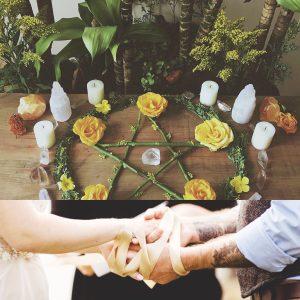 Casamento Wicca Handfasting