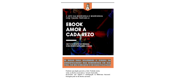 E-Book Gratuito Amor a cada Rezo – A Arte das Benzedeiras